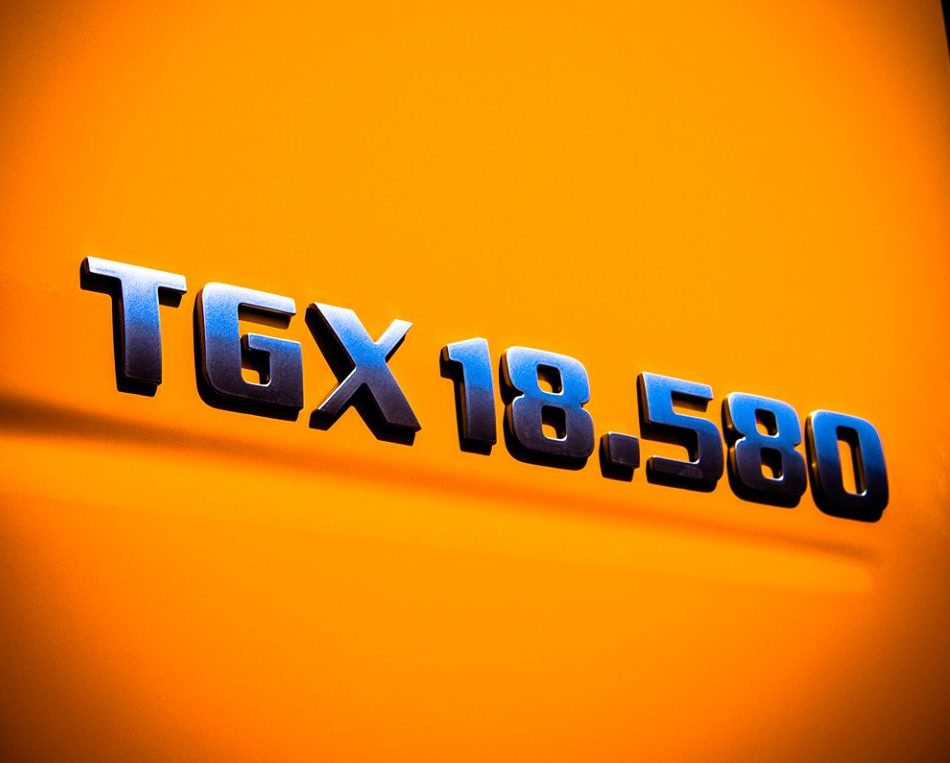 Detailaufnahme MAN TGX 18.580